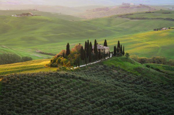 FVGClick - Foto paesaggistica in Val D'Orcia - Toscana