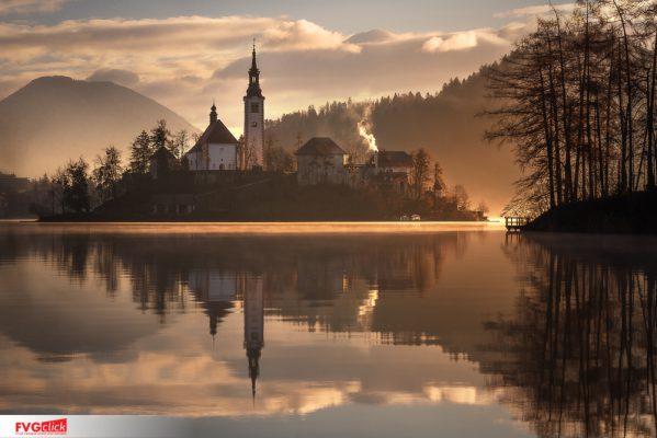 FVGClick - Foto paesaggistica al Lago di Bled - Slovenia